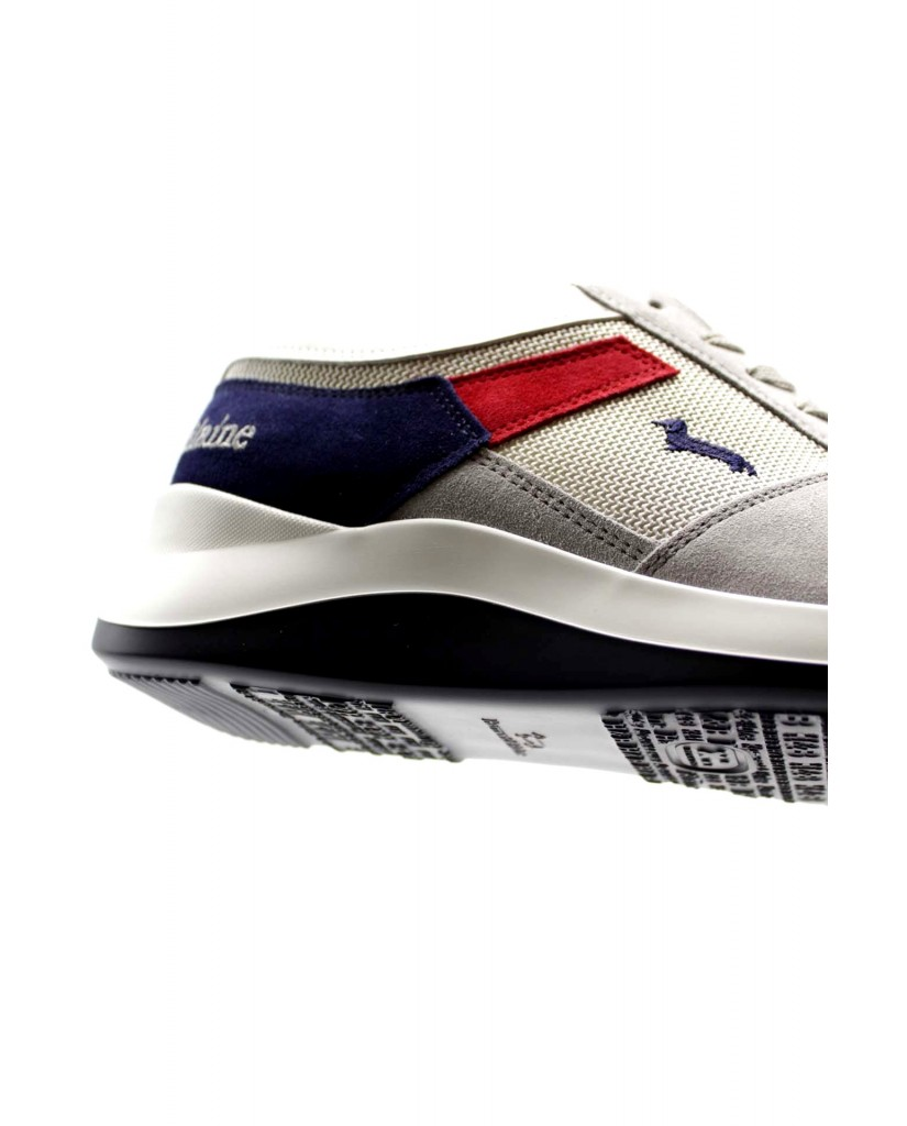 Harmont-blaine Sneakers F.gomma Scarpa uomo camoscio - tex fabric m Uomo Grigio Fashion