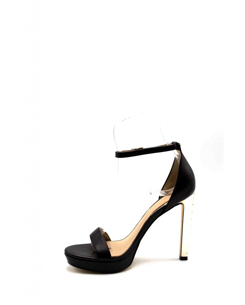 Guess Sandali F.gomma Eiry/sandalo (sandal)/leather Donna Nero Fashion