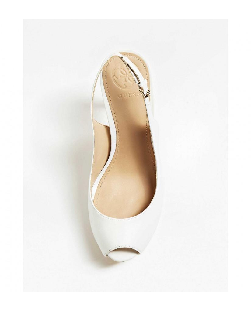 Guess Decollete   Hartlie spuntato (open toe) le Donna Bianco Fashion