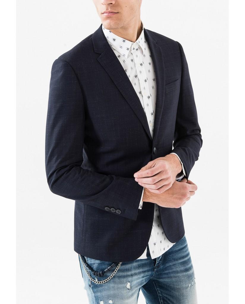 Antony morato Giacche   Giacca slim Uomo Blu intenso Fashion