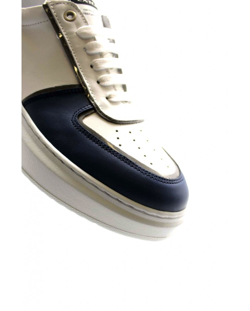 Exton Sneakers F.gomma 40/45 956 made in italy Uomo Denim Fashion