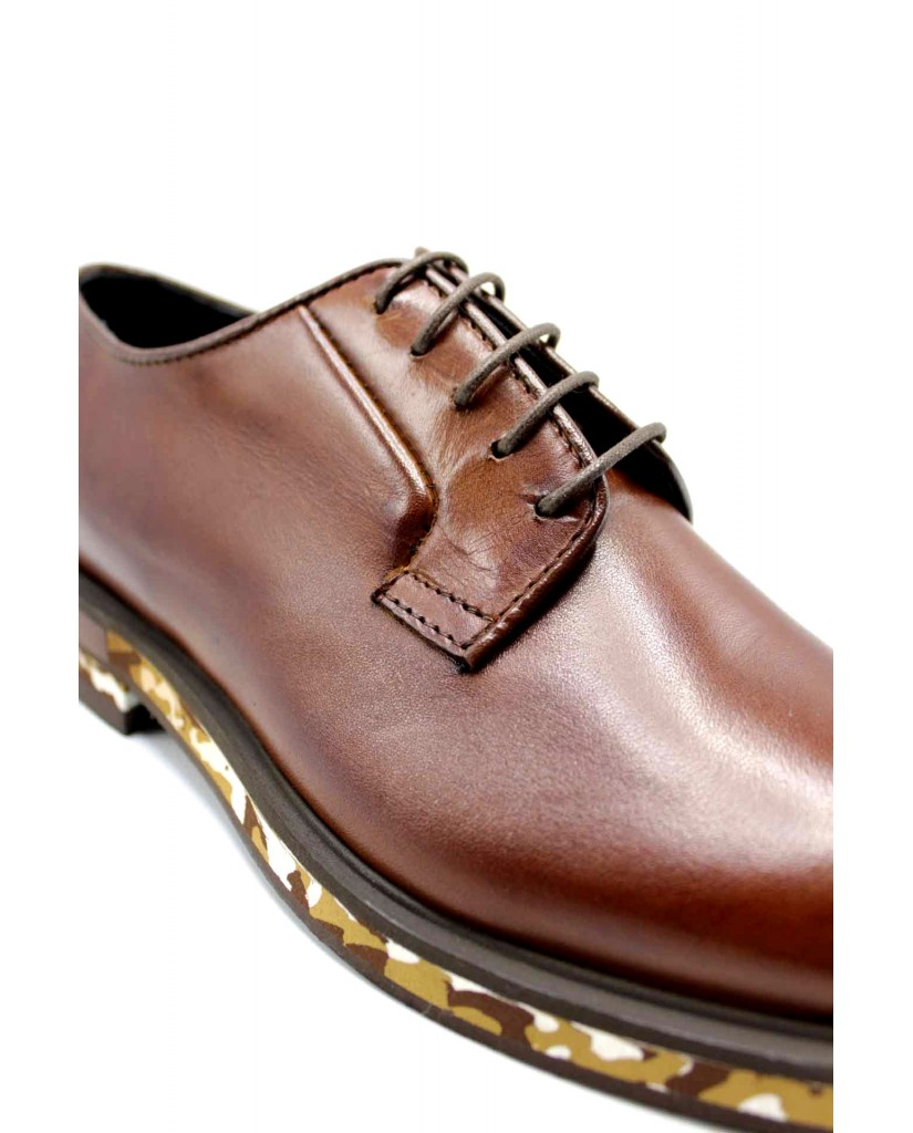Marechiaro1962 Stringate F.gomma 39-45 Uomo Marrone Fashion