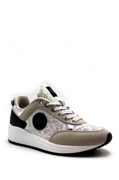 Colmar Sneakers F.gomma 36/40 Donna Argento Fashion