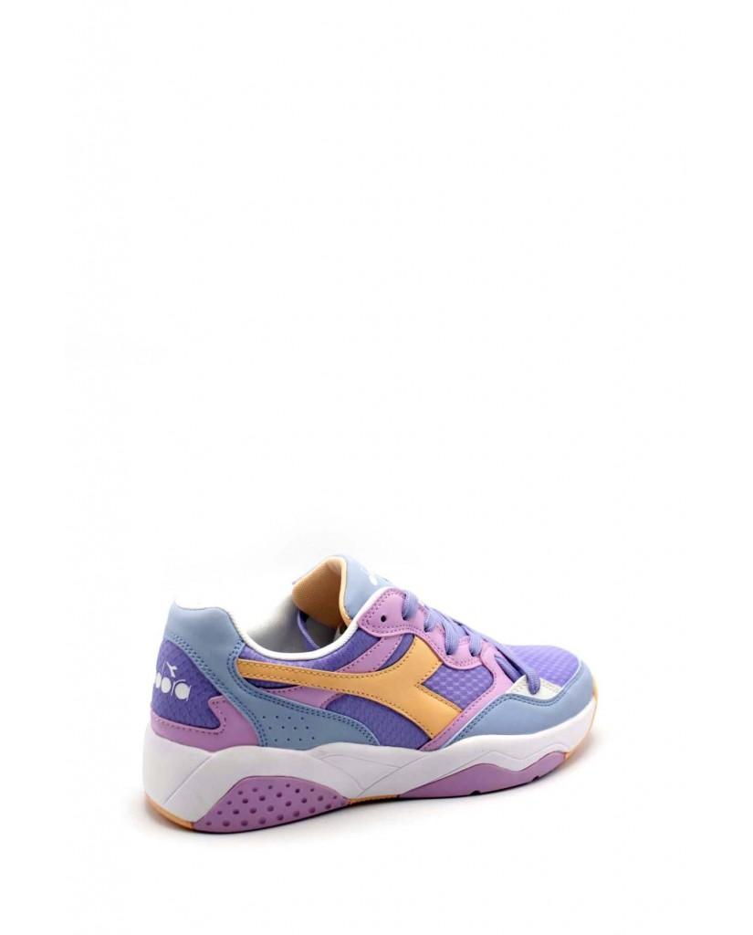 Diadora Sneakers F.gomma Flex run Donna Viola Sportivo