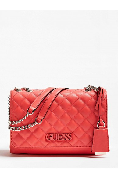 Guess Borse   Elliana cnvrtble xbody flap Donna Rosso Fashion
