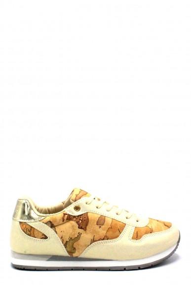 1^classe  Sneakers F.gomma 35/40 0357/0102 Donna Platino Fashion