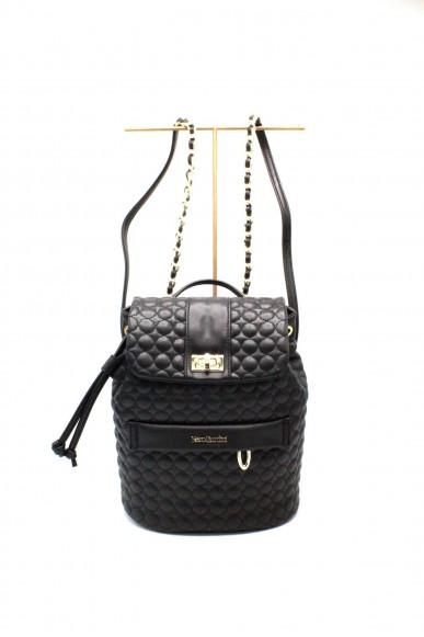 Nero giardini Backpacks   T.vitello trap. nero Donna Nero Fashion