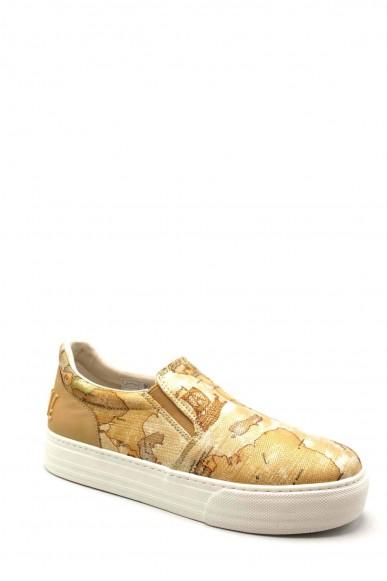 1^classe  Slip-on F.gomma Scarpa Donna Beige Fashion