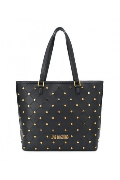 Moschino Borse   Borsa pu nero Donna Nero Fashion