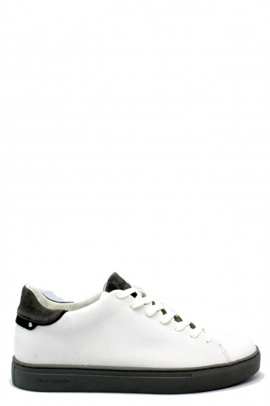 Crime london Sneakers F.gomma 40-45 11205ks1.10 ss18 Uomo Bianco Casual