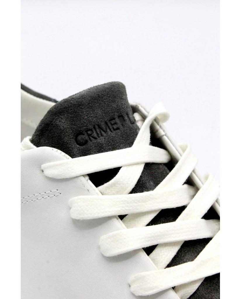 Crime london Sneakers F.gomma 40-45 11205ks1.10 ss18 Uomo Bianco Casual