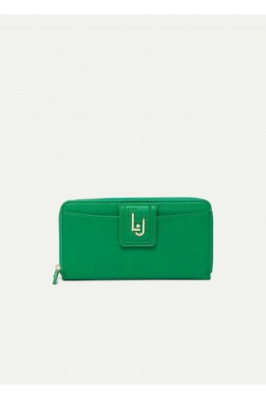 Liu.jo Portafogli - I zip around Donna Verde Fashion