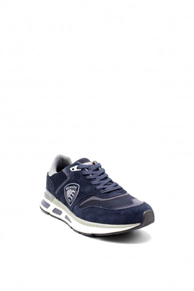 Blauer Sneakers F.gomma Hilo01 Uomo Blu Fashion