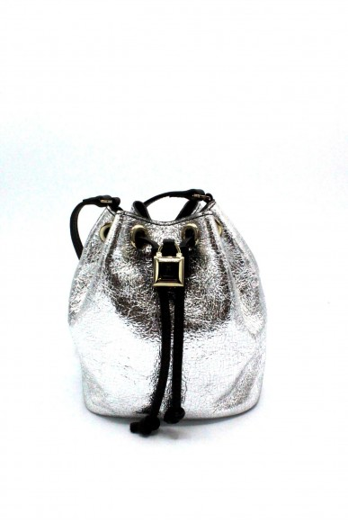 Patrizia pepe Pochette Mini secchiello Donna Silver Fashion