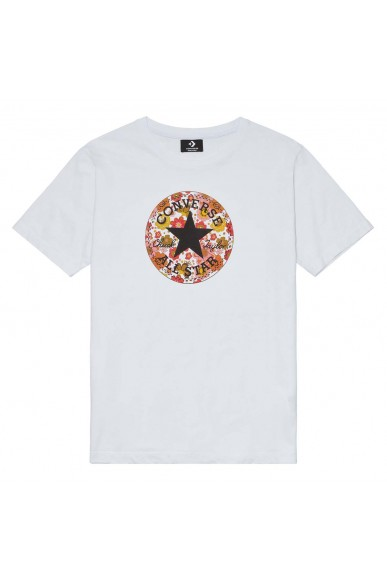 Converse T-shirt F.gomma T-shirt ss chuck graphics Donna Bianco Fashion