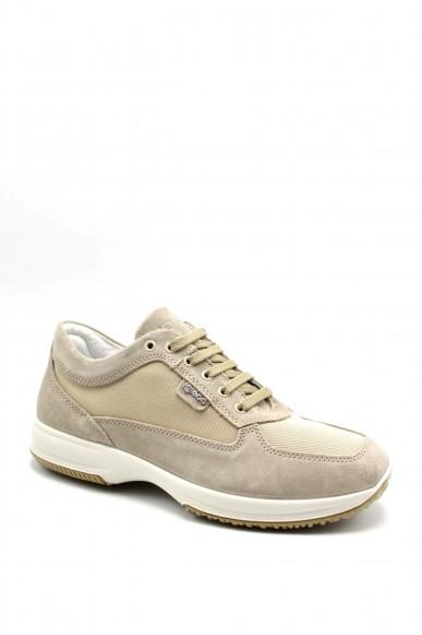 Igieco Sneakers F.gomma Utt 71191 Uomo Beige Casual