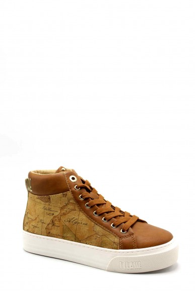 1^classe  Sneakers F.gomma Sneakers n0378 Donna Cuoio Fashion