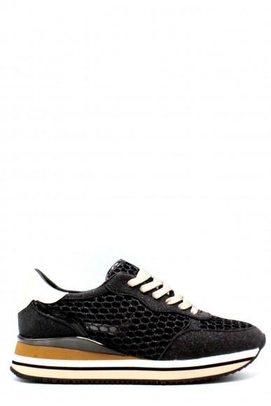 Crime Sneakers F.gomma 36/40 25548 Donna Nero Casual