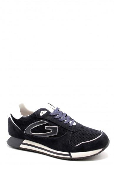 Alberto guardiani Sneakers F.gomma Fresno 010 low m suede blue Uomo Blu Casual