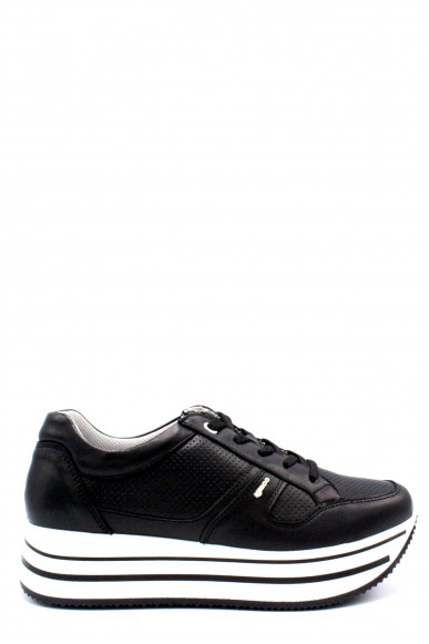 Igieco Sneakers   Donna Nero Fashion