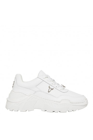 Windsor smith Sneakers F.gomma Carte brave white/white sole Donna Bianco Fashion