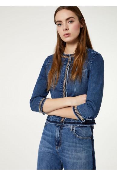 Liu.jo Giacchetti   Jacket Donna Blu Fashion