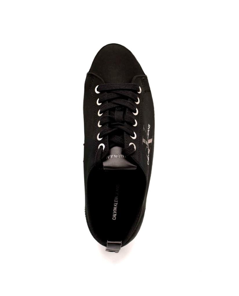 Calvin klein Sneakers F.gomma Donna Nero Casual