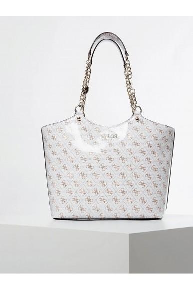 Guess Borse   Lorenna society carryall Donna Bianco Fashion