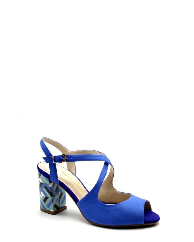 F Sandali Blu 8772 203 Vpsquzm Rossi Gomma Fashion 429 Capelli Donna xhQdCstr