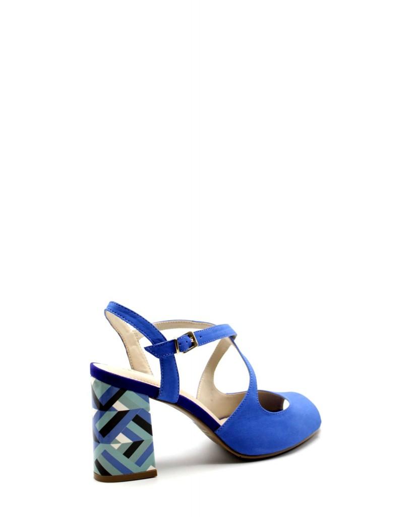 Capelli rossi Sandali F.gomma 8772-203-429 Donna Blu Fashion