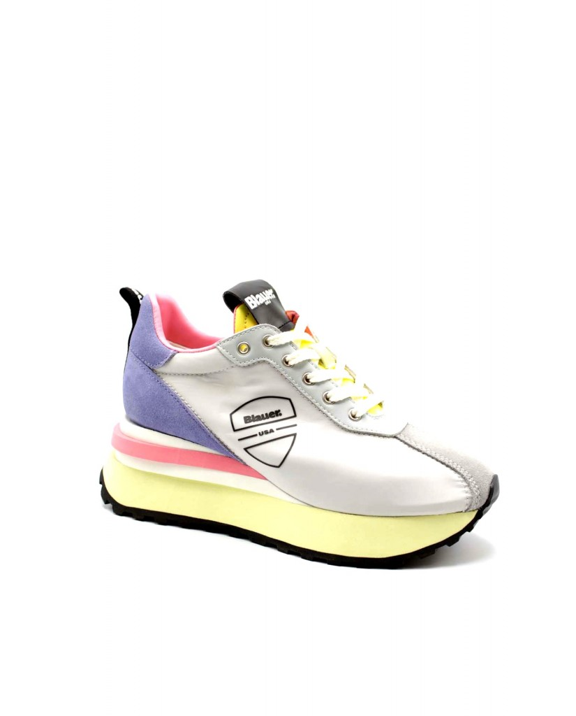 Blauer Sneakers F.gomma Mabel01 Donna Argento Fashion