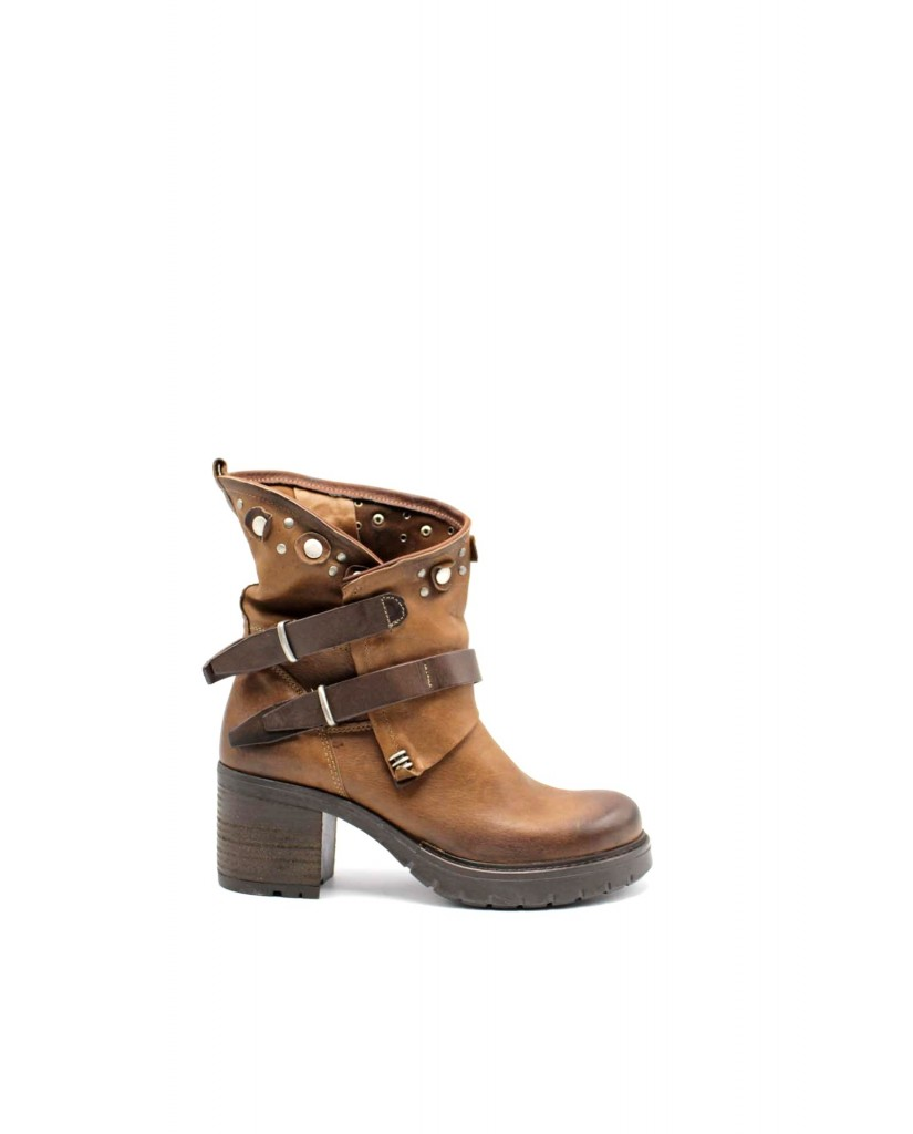 Euroshoes Tronchetti F.gomma F34 made in italy Donna Cacao Fashion
